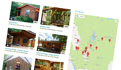 Estes Park Colorado Cabins / Cabin Rentals - AllTrips
